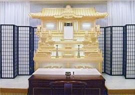 白木祭壇(ならまちプラン)