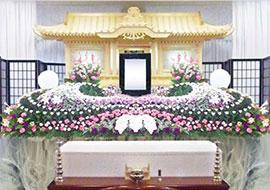 白木・花祭壇(あすかのプラン)