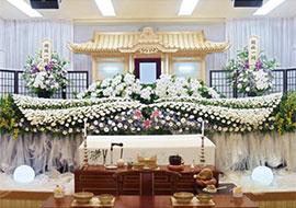 白木・花祭壇(飛翔プラン)