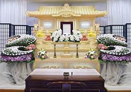 白木・花祭壇(わかくさプラン)