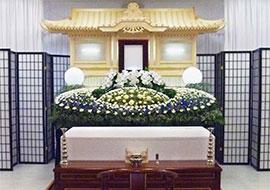 白木・花祭壇(やすらぎプラン)