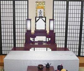 和風祭壇(あおいプラン)